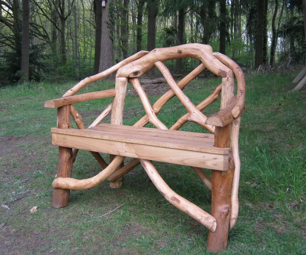 Rustic Garden Seats And Benches Coppice Creations