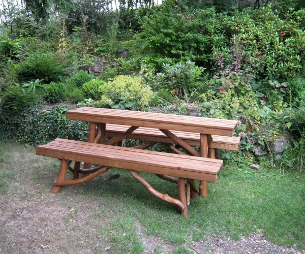 No.56 Lathed Table and Benches