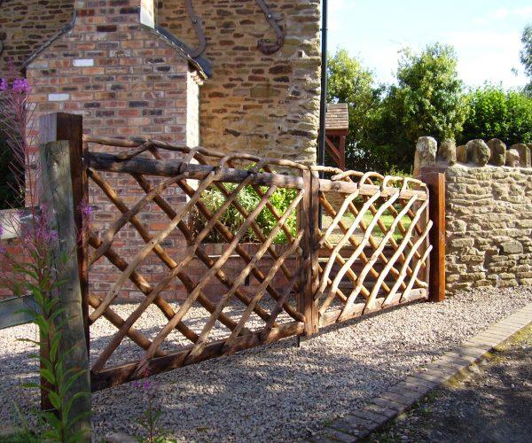 Rustic Driveway Gates