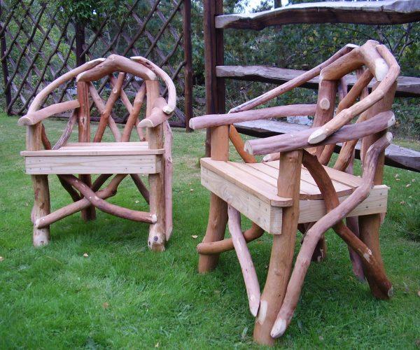 Rustic Garden Armchair