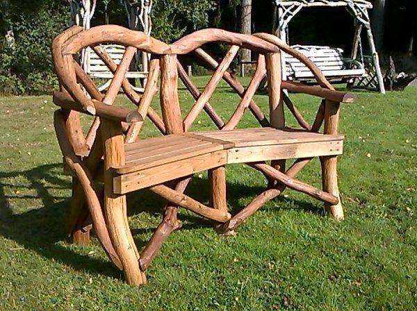Rustic Garden Seat