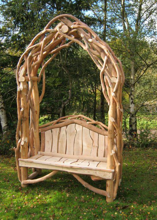 Garden Arch Seat