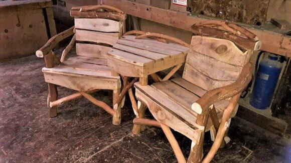 Rustic Companion Seat