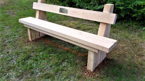 Oak Park Bench
