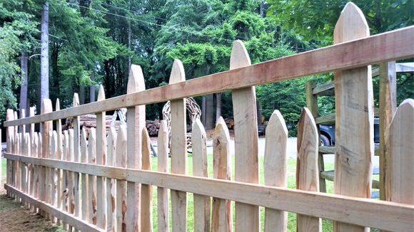 Cleft Pale Estate Fence-2