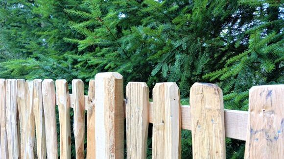 Cleft Pale Fence-4