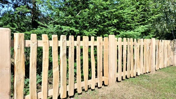 Cleft Pale Fence-3