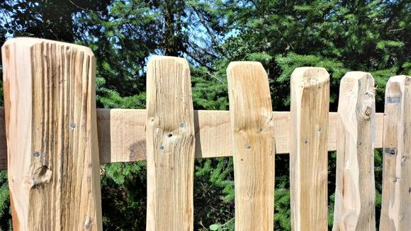 Cleft Pale Fence-2