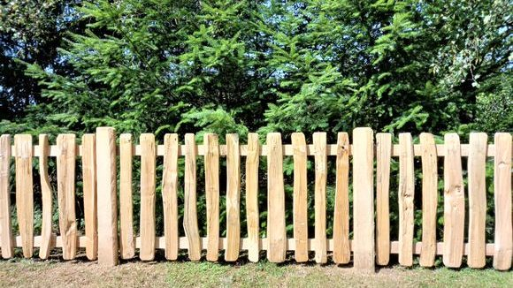 Cleft Pale Fence-1
